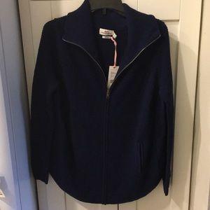 Vineyard Vines Merino Wool Full ZIP Sweater